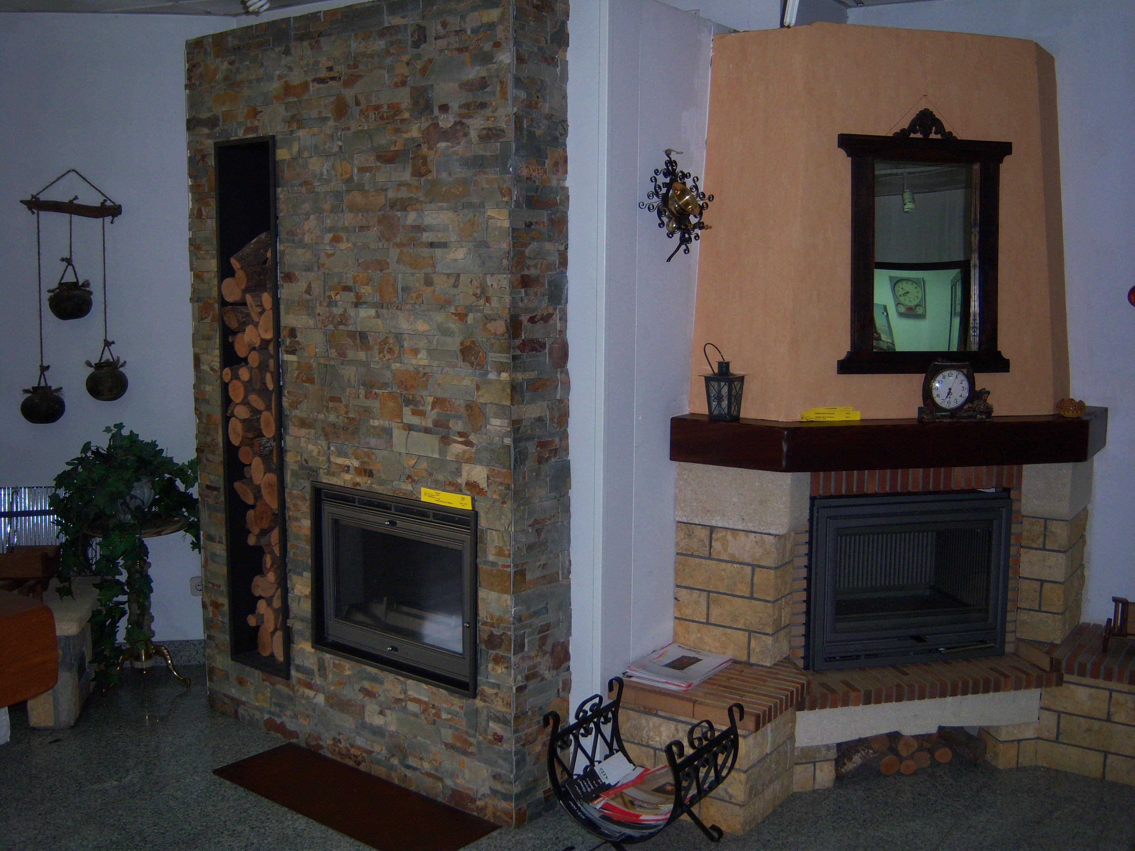 Exposici n de chimeneas en guadalajara y alcal - Revestimientos de chimeneas rusticas ...
