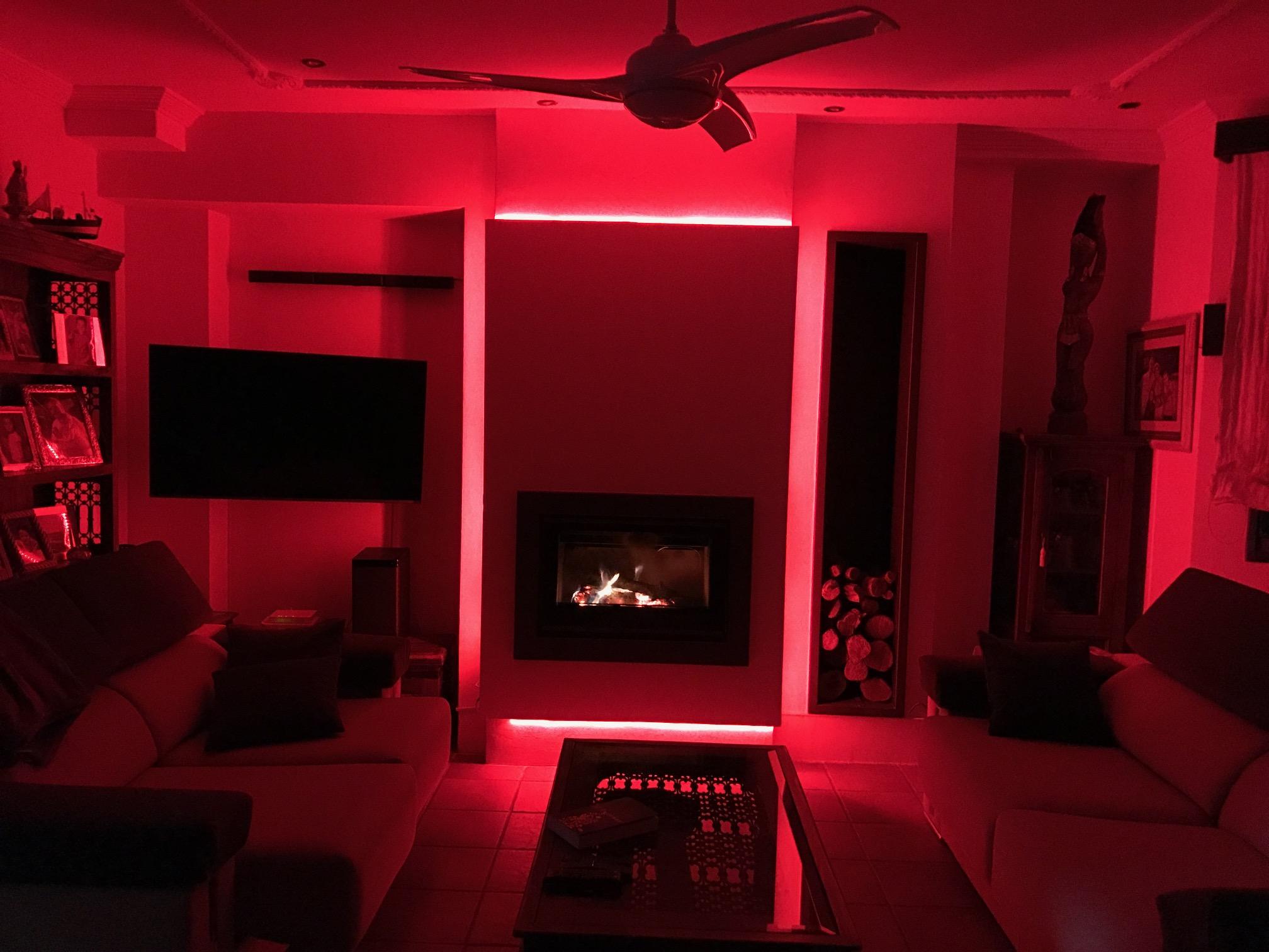 chimenea lea con iluminacin leds chimeneas molina venta e instalacin de estufas de lea y pellet