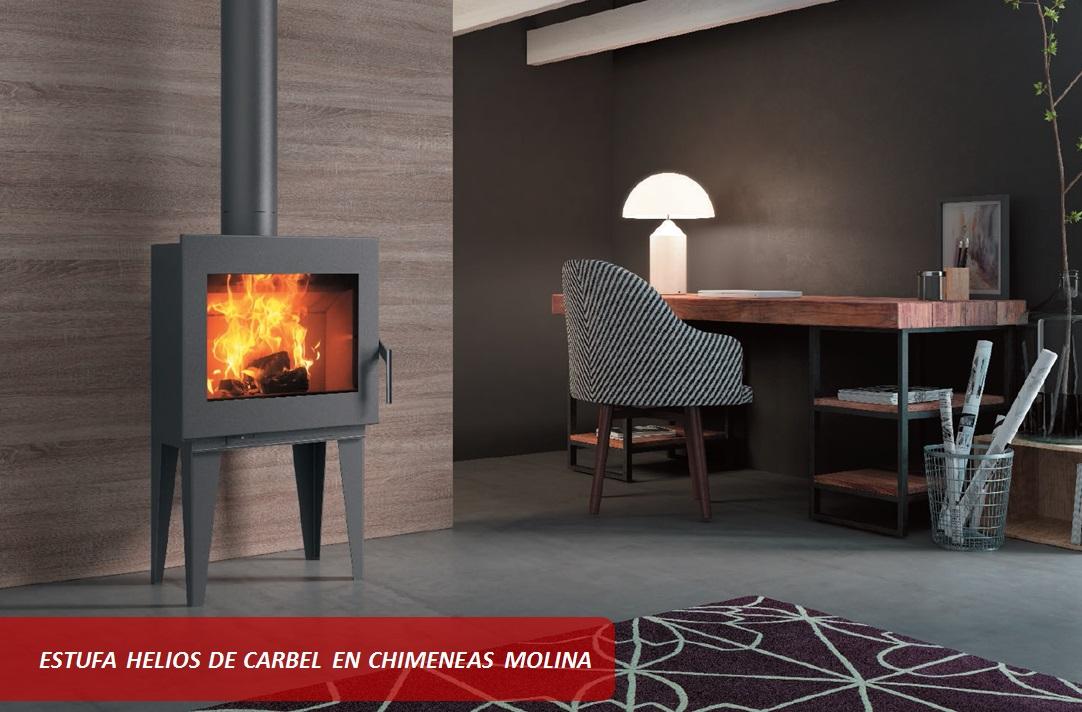 Nuevas estufas carbel atenea helios maia carbel carbel for Estufas modernas 2016