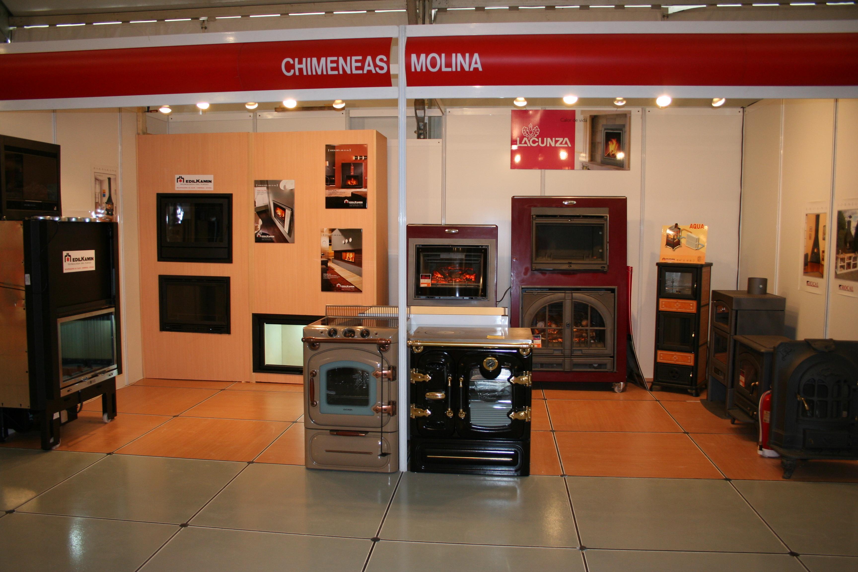 Chimeneas Molina en la Feria Comercio Azuqueca de Henares 2008